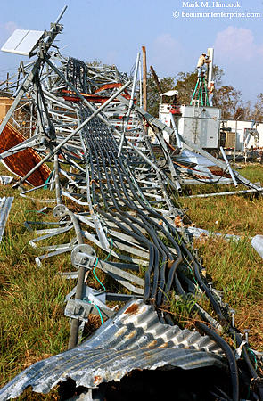 Cell towers failed